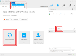 Webex How Do I Switch My Audio From Phone To Computer Or Vice