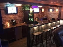man cave bar. Fine Bar Man Cave Basement Bar 6 Days Start To Finish Go Me Lol With Cave Bar