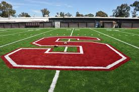 green grass football field. Stanford University Football Practice Field Green Grass
