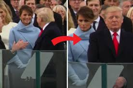 Daily - Donald Face Her After Inauguration Trump's Star Drops At Melania Faces