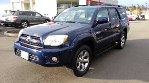 Used 2008 Toyota 4Runner Limited 4WD V-6 Renton - YouTube
