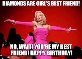 birthday meme friend