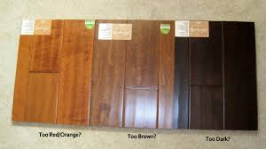 colors of engineered hardwood floors
