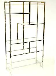 brass and glass shelving unit large size of modern glass shelves design a geometric brass and brass and glass shelving unit