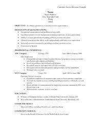 Resume Objective Customer Service Sample Resume For Customer Service Associate Resume Objective 32