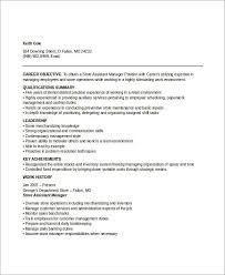 Department Store Manager Resumes Manager Resume Sample Templates 43 Free Word Pdf Documents