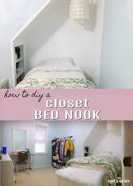 closet bed nook