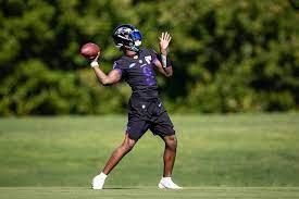NFL: Lamar Jackson not at Ravens ...
