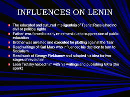 vladimir lenin demetrius bolton pic contents lenin s early life  influences on lenin the educated and cultured intelligentsia of tsarist russia had no civil or political