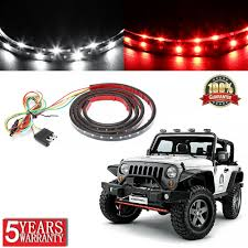 Truck Tailgate Lights Details About 60 Inch 2 Row Led Truck Tailgate Light Bar Strip Red White Reverse Stop Signal