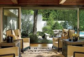 japanese style living room set garden designer suzanne lovell found a pair of art deco white leather wing ch