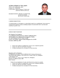 civil engineering resume objective template medium size civil engineering  resume objective template large size - Resume