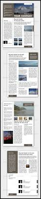 newsletter template for pages newsletter template 4 pages adjustable by p_11 graphicriver