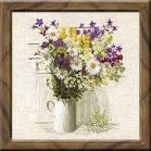 Вышивка цветы от риолис