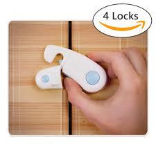 Cabinet Locks Pack Of 4 Child Safety Locks Child Baby Proof