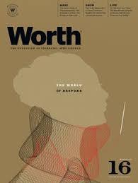 dean sebring cover for worth magazine