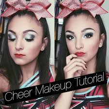 cheer makeup tutorial santanna garcia