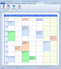 schedule creater calendar creator for microsoft word with holidays