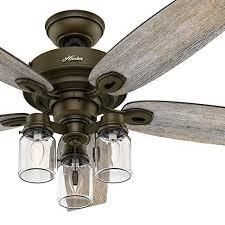 hunter fan 52 regal bronze ceiling fan