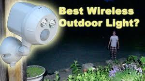 best wireless led motion sensor light mr beams ultra bright spotlight test review you