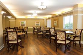 Clarewood House Retirement Community - Living and dining room