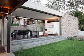 Small Picture Indoor Outdoor Home Design Multi Level Garden House in El Salvador