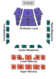 Jorgensen Theater Seating Chart Seating Charts