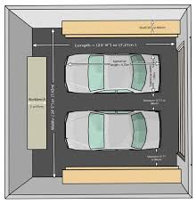 Typical Size Of 2 Car Garage Affordable Exquisite Size Of A Car Dimensions Of One Car Garage