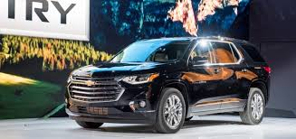 2018 chevrolet vehicles. brilliant 2018 2018 chevrolet traverse high country exterior live reveal 002 for chevrolet vehicles