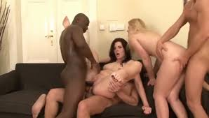 Interracial DP with white girls in Jungle Fever compilation.
