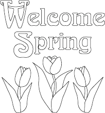 Spring Coloring Sheets Astonishing Free Printable Colouring Pages