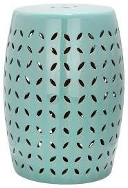 safavieh lattice petal garden stool