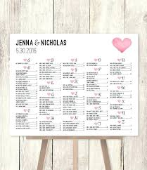 new wedding seating chart poster template beautiful best charts images on concept diy definition c templ