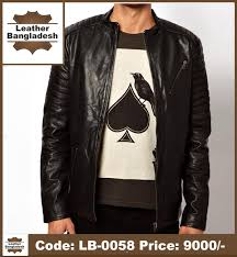 smart look pure leather jacket