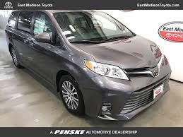 2018 New Toyota Sienna XLE FWD 8-Passenger at East Madison Toyota ...