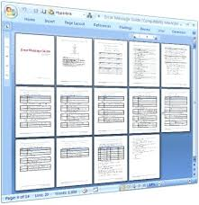 Microsoft Word Study Guide Template Microsoft Word User Manual Template Jennifermccall Me