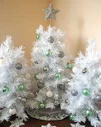 Elegant White Table Top Christmas Tree