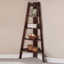 corner shelves furniture. Corner Book Shelfs Sleek Walnut Shelf Bookcase Shelves Furniture A