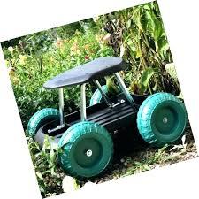 Chart Cart On Wheels Garden Seat Cart Triggspot Com