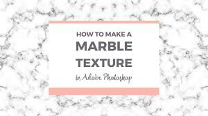 How To Make A Seamless Marble Texture In Photoshop
