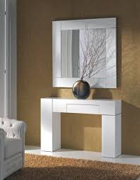 small white gloss console table with drawers  protipturbo table