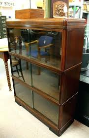 sliding door book cases bookcases with sliding glass doors three section barrister bookcase with sliding glass sliding door