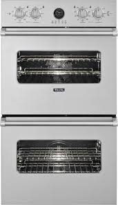 viking vedo5302ss 30 double electric wall oven with 4 7 cu ft upper lower vari sd dual flow convection oven digital og clock meat probe and