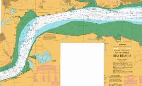 River Thames Canvey Island To Tilbury A Canvey Island To