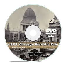 Victorian Kitchen Garden Dvd Chicago Worlds Fair 1893 Columbian Exposition 50 Vintage Books