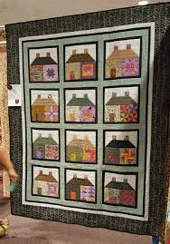 Roseville Quilters Guild Show 2017 | Quilt Skipper: Jenny K Lyon ... & City Block, Janet Moore, Quilted by Patty Clausen Adamdwight.com