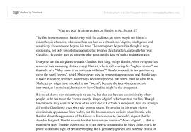 essay and summary example middle school