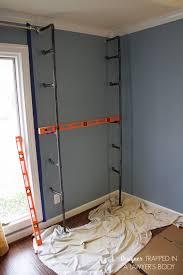 home office bookshelves. diy pipe bookshelves and desks home office shelving ideas