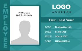 10 Best Ms Word Photo Id Badge Templates For Office