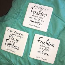 Quote Plaques Simple CHANEL Other Coco Quote Plaques Poshmark